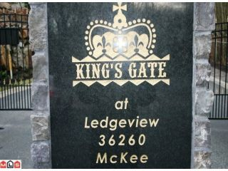 """Photo 10: 4 36260 MCKEE Road in Abbotsford: Abbotsford East Townhouse for sale in """"Kings Gate"""" : MLS®# F1301155"""
