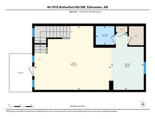 Photo 3: 40 1816 RUTHERFORD Road in Edmonton: Zone 55 Townhouse for sale : MLS®# E4264651