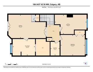 Photo 29: 186 3437 42 Street NW in Calgary: Varsity Row/Townhouse for sale : MLS®# A1070340