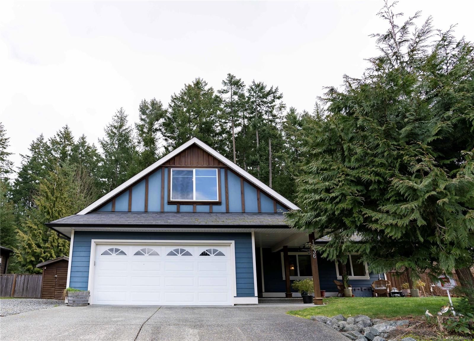 Main Photo: 1336 Bonner Cres in : ML Cobble Hill House for sale (Malahat & Area)  : MLS®# 869427