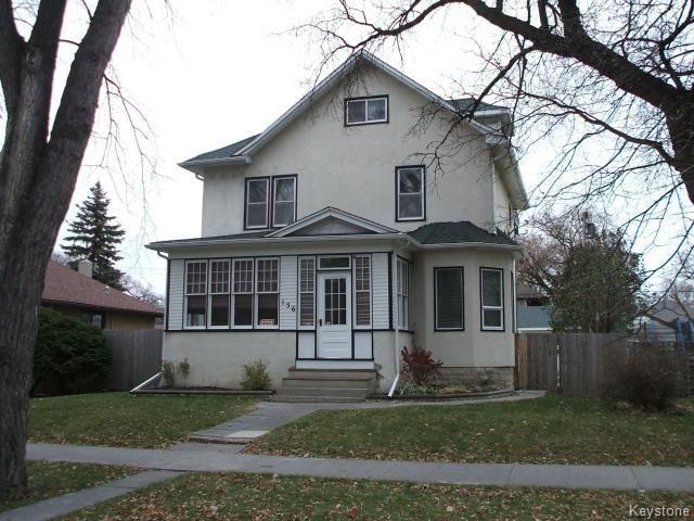 Main Photo: 156 Lawndale Avenue in WINNIPEG: St Boniface Residential for sale (South East Winnipeg)  : MLS®# 1324380
