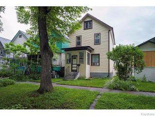 Photo 1: 1057 Ingersoll Street in WINNIPEG: West End / Wolseley Residential for sale (West Winnipeg)  : MLS®# 1519837