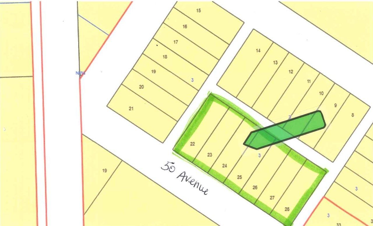 Main Photo: Lots 22-28 50th Avenue: Opal Vacant Lot for sale : MLS®# E4141204