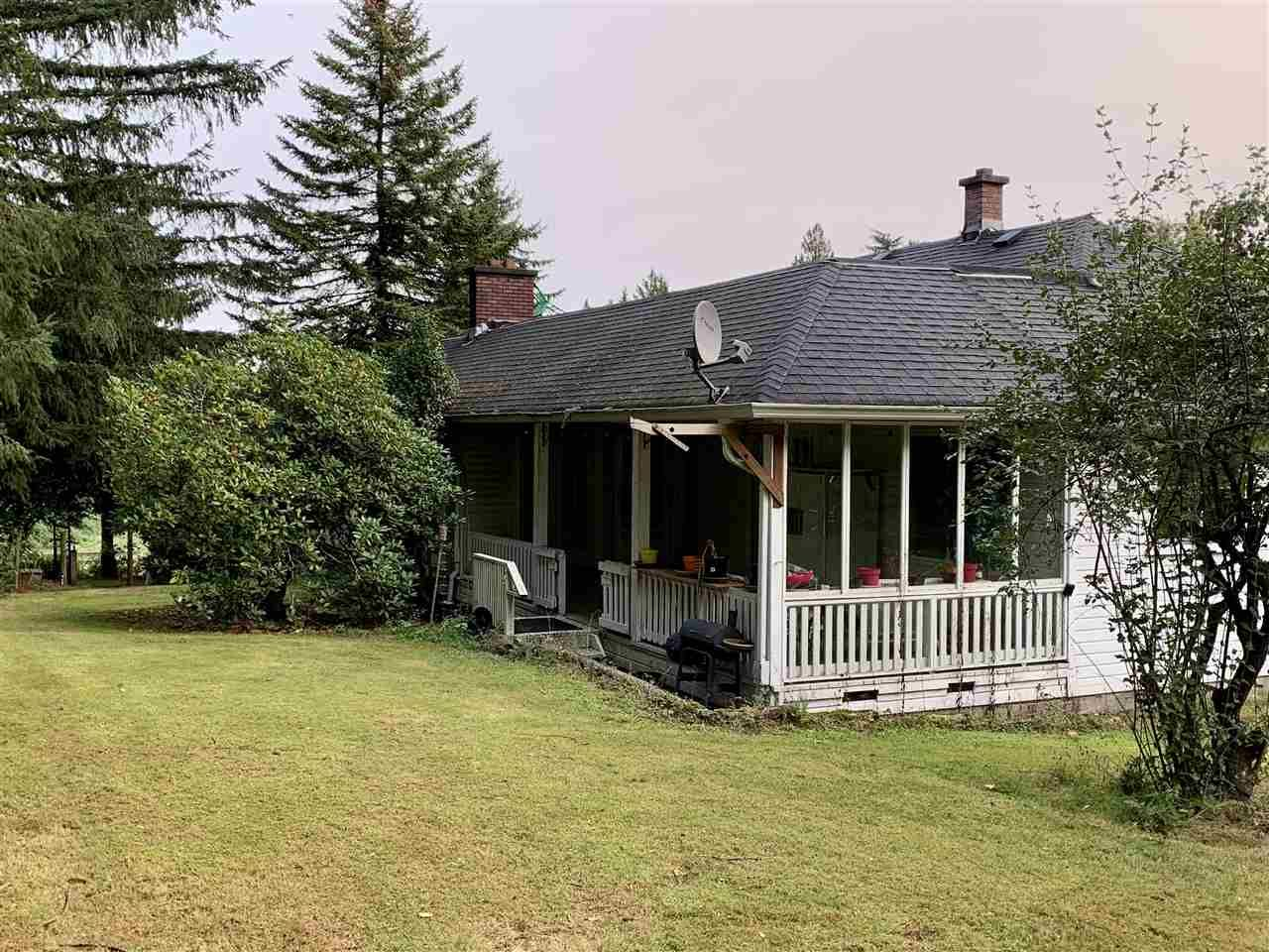 Main Photo: 6052 MT.LEHMAN Road: House for sale in Abbotsford: MLS®# R2502190