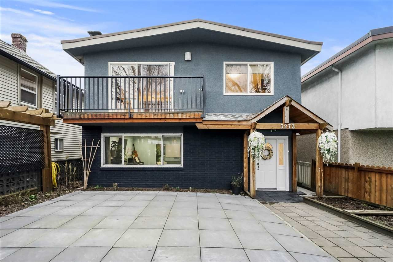 Main Photo: 3273 PARKER Street in Vancouver: Renfrew VE House for sale (Vancouver East)  : MLS®# R2541244
