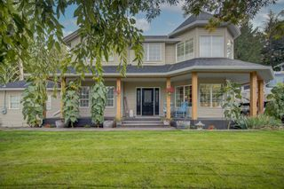 Photo 1: 7292 MARBLE HILL Road in Chilliwack: Eastern Hillsides House for sale : MLS®# R2617701