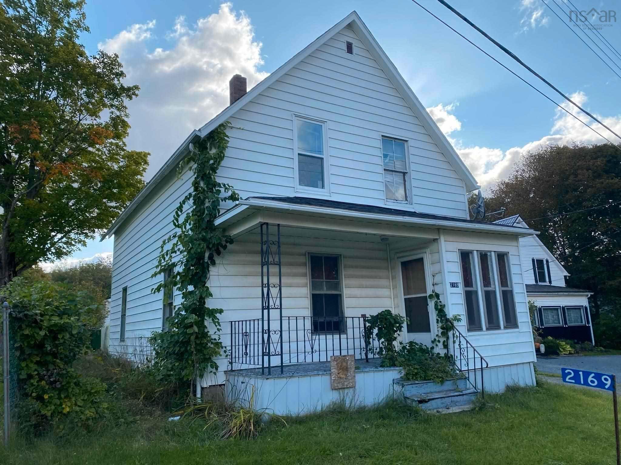 Main Photo: 2169 Church Street in Westville: 107-Trenton,Westville,Pictou Residential for sale (Northern Region)  : MLS®# 202125552