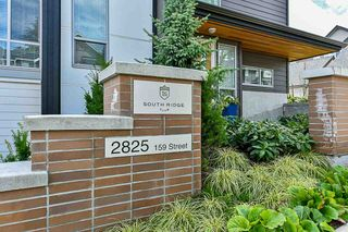 """Photo 1: 15 2825 159 Street in Surrey: Grandview Surrey Townhouse for sale in """"GREENWAY"""" (South Surrey White Rock)  : MLS®# R2286470"""