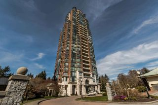 """Photo 1: 805 6837 STATION HILL Drive in Burnaby: South Slope Condo for sale in """"Claridges"""" (Burnaby South)  : MLS®# R2246104"""