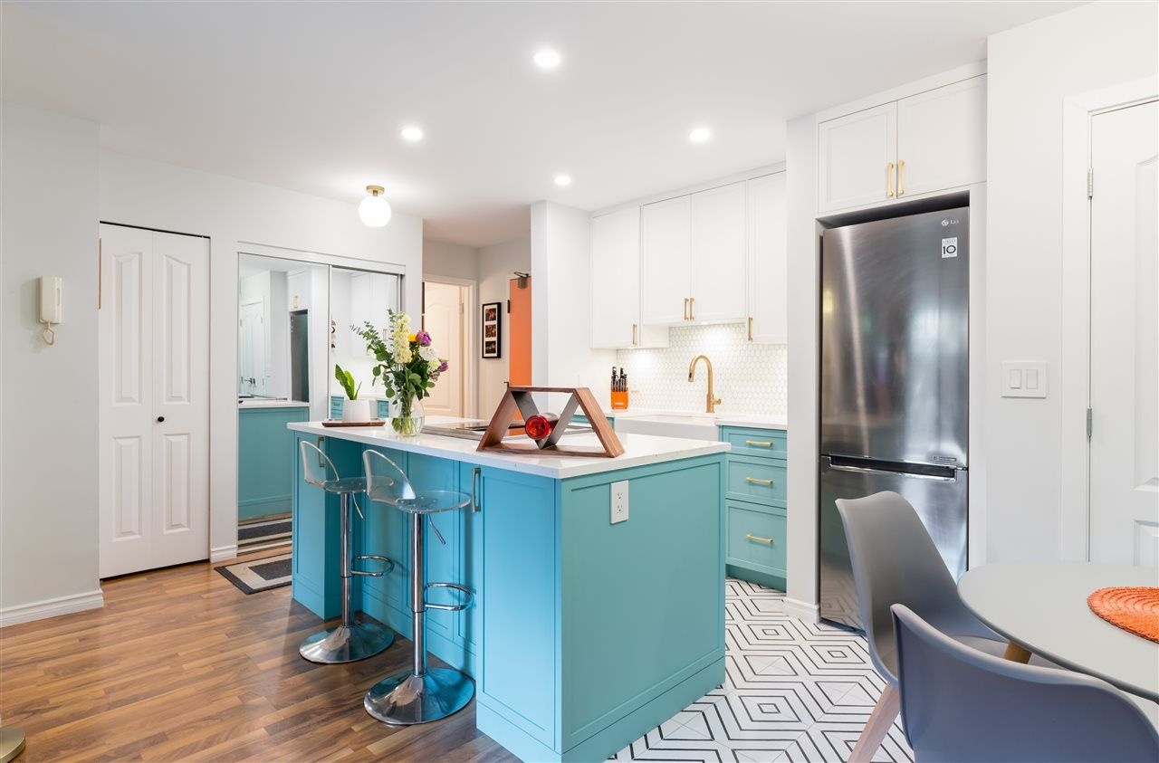 """Main Photo: 102 1549 KITCHENER Street in Vancouver: Grandview Woodland Condo for sale in """"Dharma Digs"""" (Vancouver East)  : MLS®# R2570093"""