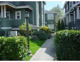 Photo 8: 158 W 14TH Ave in Vancouver: Mount Pleasant VW Townhouse for sale (Vancouver West)  : MLS®# V633672
