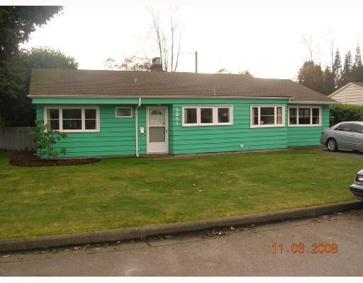 """Main Photo: 1241 MCBRIDE Street in North_Vancouver: Norgate House for sale in """"NORGATE"""" (North Vancouver)  : MLS®# V694323"""