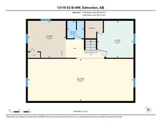 Photo 33: 13116 63 Street Edmonton 2 Bed 2 Bath House w/Garage For Sale E4250346