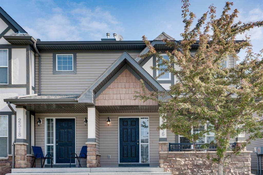 Main Photo: 2516 Eversyde Avenue SW in Calgary: Evergreen Row/Townhouse for sale : MLS®# A1117867