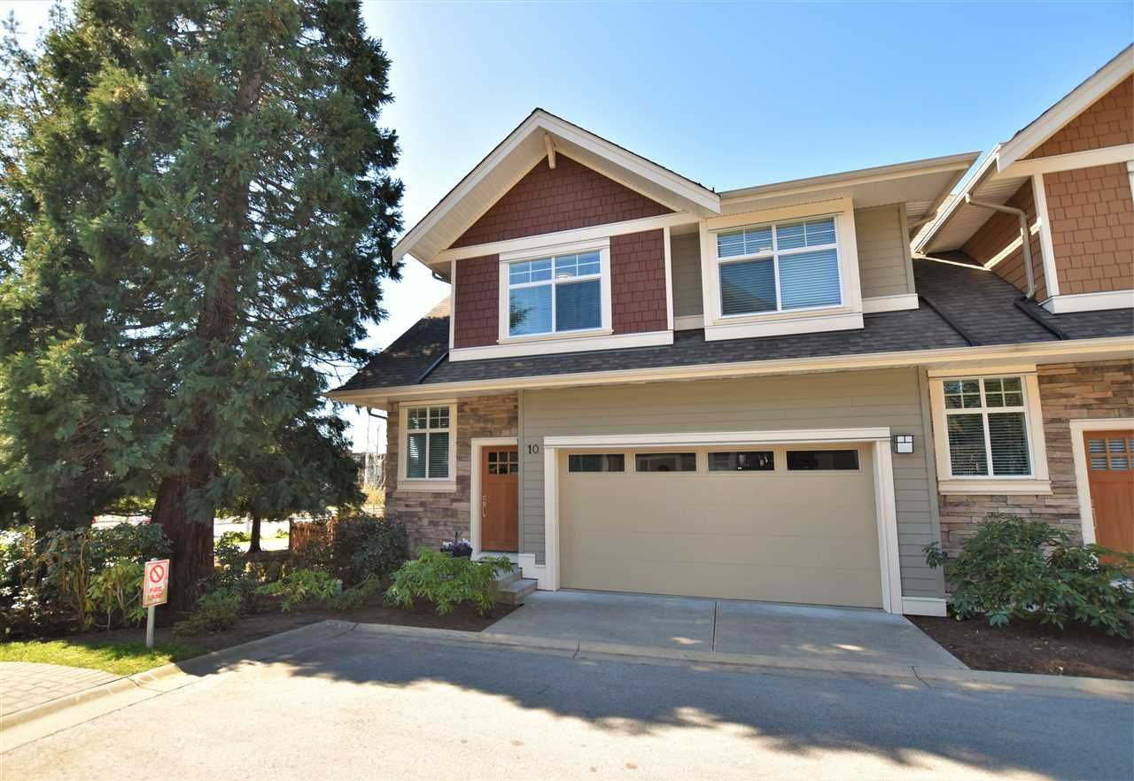 "Main Photo: 10 2453 163 Street in Surrey: Grandview Surrey Townhouse for sale in ""Azure"" (South Surrey White Rock)  : MLS®# R2385935"