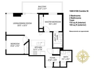 """Photo 16: 1608 8189 CAMBIE Street in Vancouver: Marpole Condo for sale in """"NORTHWEST"""" (Vancouver West)  : MLS®# R2604413"""