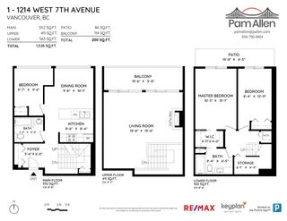 """Photo 18: 1 1214 W 7TH Avenue in Vancouver: Fairview VW Townhouse for sale in """"MARVISTA COURTS"""" (Vancouver West)  : MLS®# R2560085"""