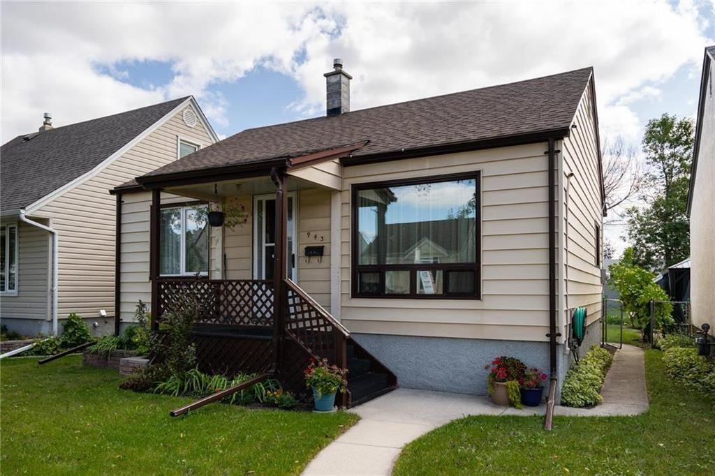 Main Photo: 943 Spruce Street in Winnipeg: West End Residential for sale (5C)  : MLS®# 202120425