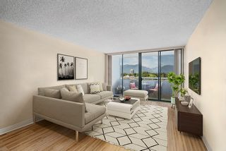 """Photo 1: 1104 3920 HASTINGS Street in Burnaby: Vancouver Heights Condo for sale in """"Ingleton Place"""" (Burnaby North)  : MLS®# R2480772"""