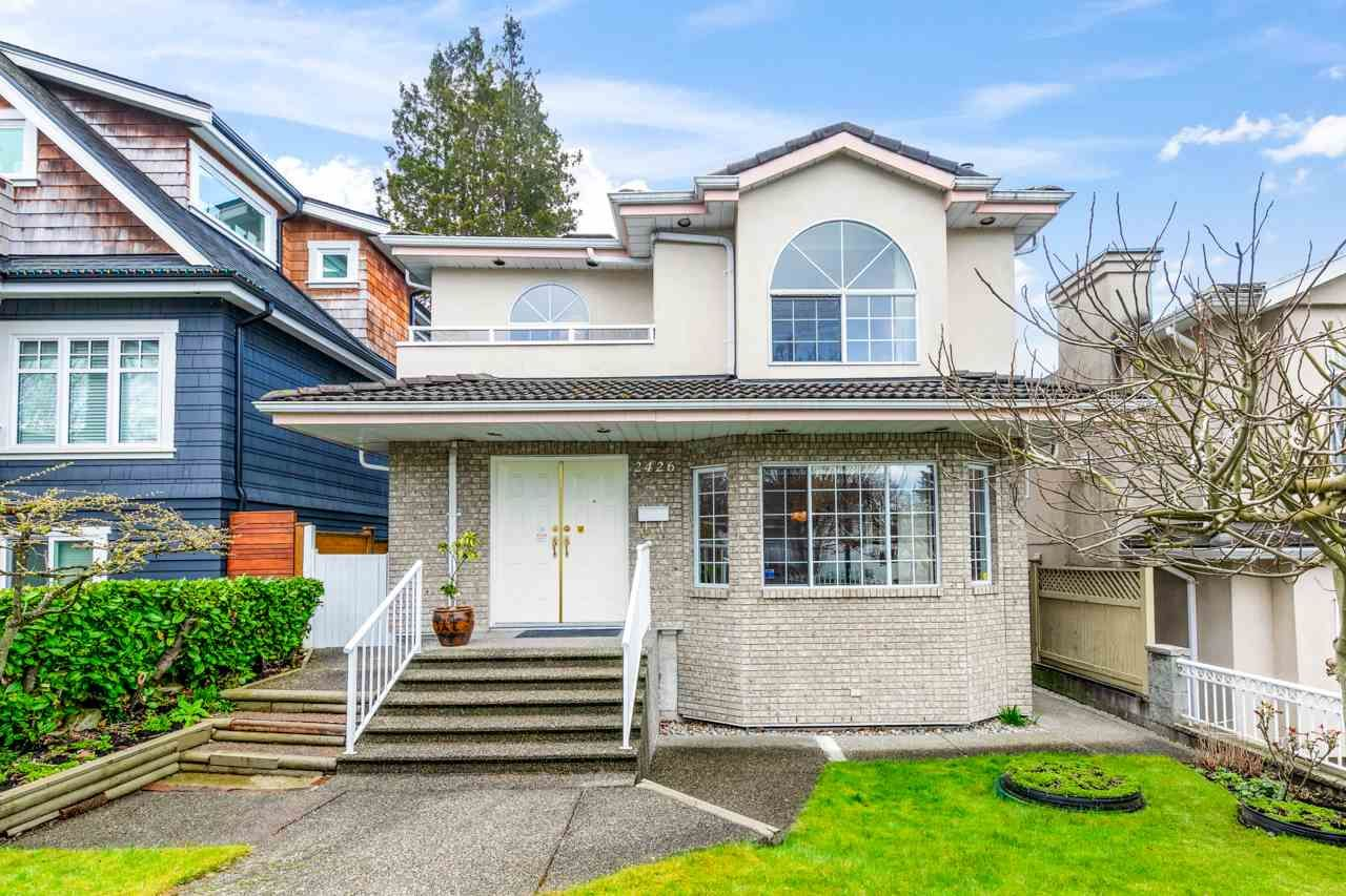 Main Photo: 2426 ST. LAWRENCE Street in Vancouver: Collingwood VE House for sale (Vancouver East)  : MLS®# R2554959