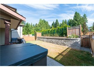 Photo 19: 1204 BURKEMONT PL in Coquitlam: Burke Mountain House for sale : MLS®# V1019665