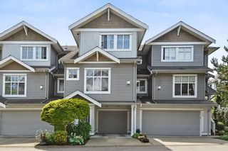 """Photo 1: 37 16760 61 Avenue in Surrey: Cloverdale BC Townhouse for sale in """"HARVEST LANDING"""" (Cloverdale)  : MLS®# R2282376"""