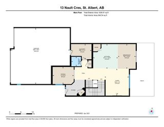 Photo 42: 13 Nault Crescent: St. Albert House for sale : MLS®# E4248384