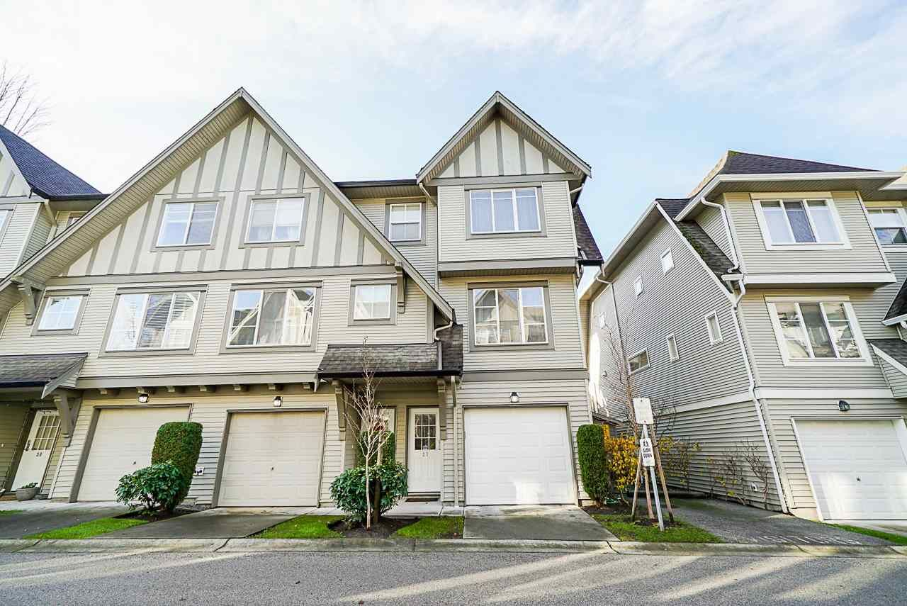 "Main Photo: 27 15175 62A Avenue in Surrey: Sullivan Station Townhouse for sale in ""Brooklands"" : MLS®# R2518946"