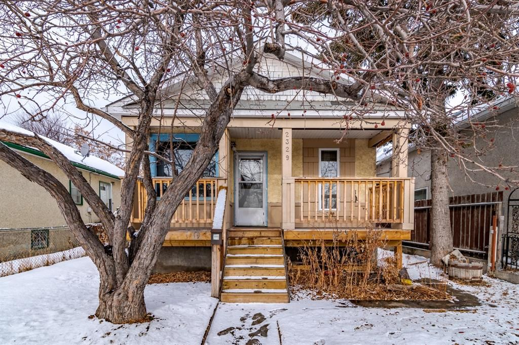 Main Photo: 2329 Spiller Road SE in Calgary: Ramsay Detached for sale : MLS®# A1072496