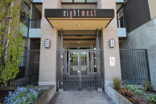 """Photo 1: 315 55 EIGHTH Avenue in New Westminster: GlenBrooke North Condo for sale in """"Eight West"""" : MLS®# R2398195"""
