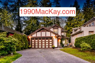 Photo 1: 1990 MACKAY Avenue in North Vancouver: Pemberton Heights House for sale : MLS®# R2345091