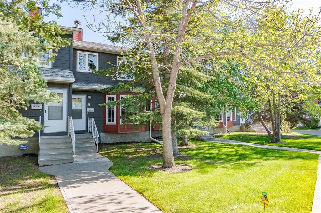 Main Photo: 56 Abberfield Court NE in Calgary: Abbeydale Row/Townhouse for sale : MLS®# A1115088