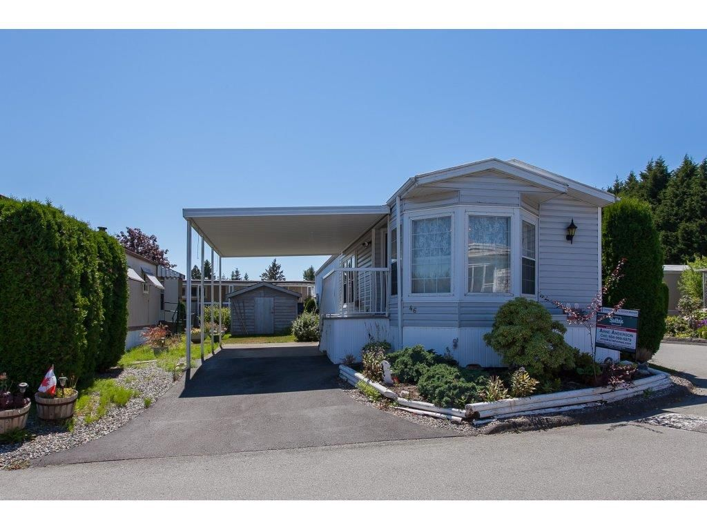 """Main Photo: 46 15875 20 Avenue in Surrey: King George Corridor Manufactured Home for sale in """"SEA RIDGE BAYS"""" (South Surrey White Rock)  : MLS®# R2192542"""