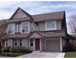 """Photo 1: 26 23085 118TH Avenue in Maple_Ridge: East Central Townhouse for sale in """"SOMMERVILLE GARDENS"""" (Maple Ridge)  : MLS®# V638889"""