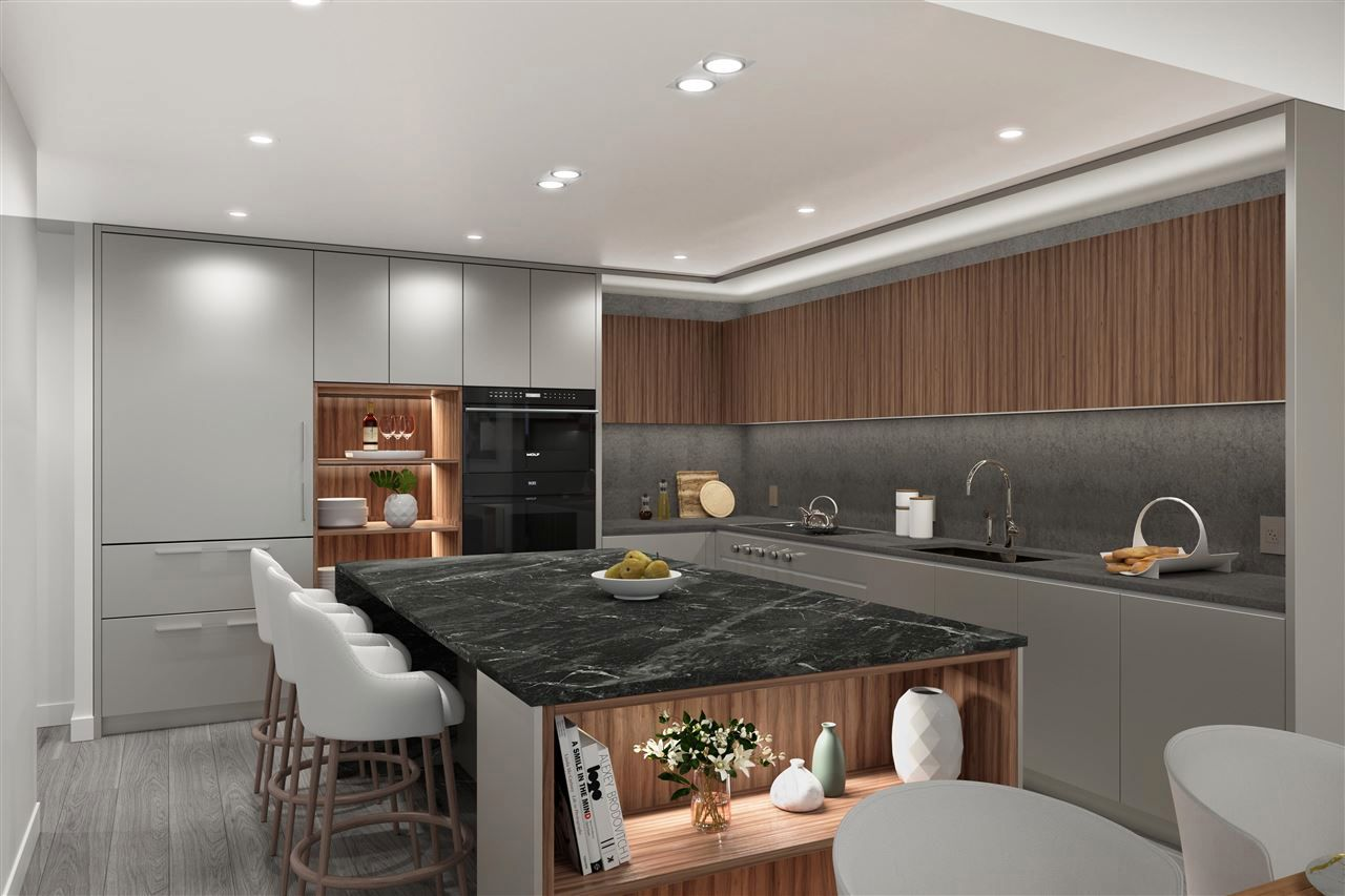 Rendering/photo displays interior finishing materials only and design layout varies per floor plan. Option to choose colour palette.