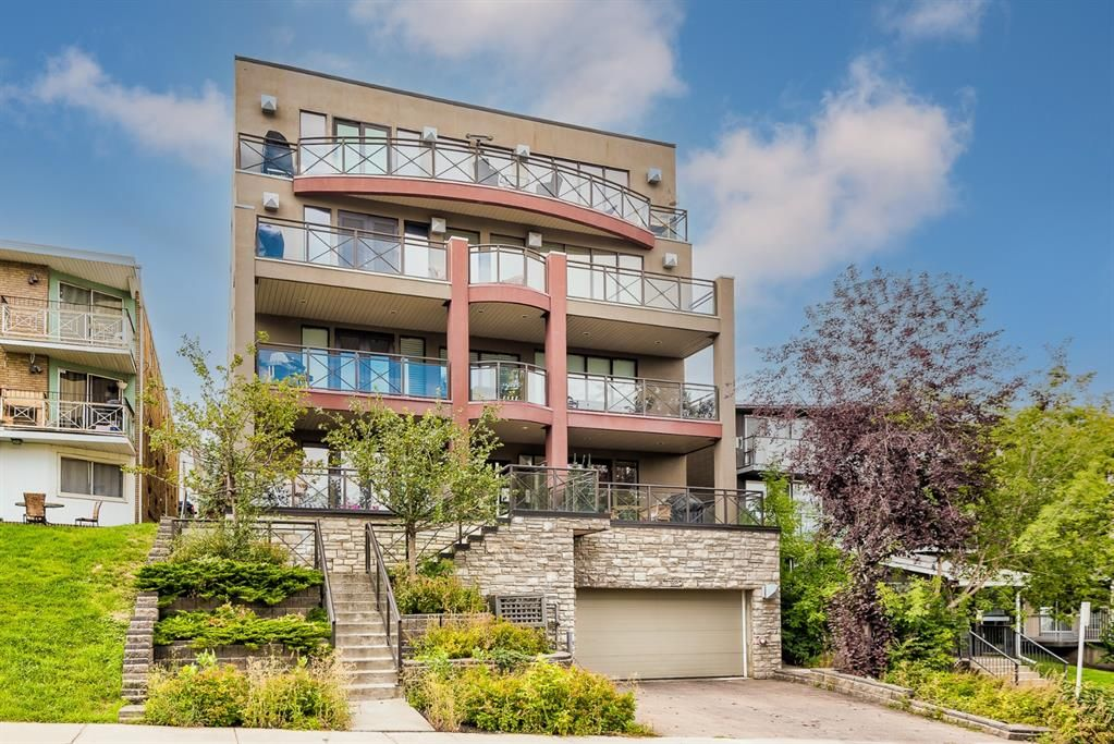 Main Photo: 103 1731 13 Street SW in Calgary: Lower Mount Royal Apartment for sale : MLS®# A1144592