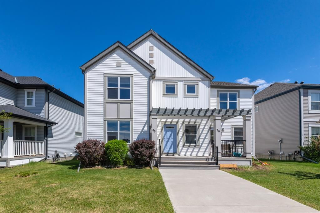 Main Photo: 60 COPPERPOND Road SE in Calgary: Copperfield Semi Detached for sale : MLS®# A1117009