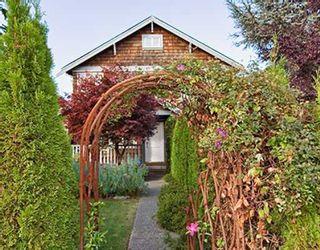 Photo 1: 2961 W 5TH Avenue in Vancouver: Kitsilano 1/2 Duplex for sale (Vancouver West)  : MLS®# V671217