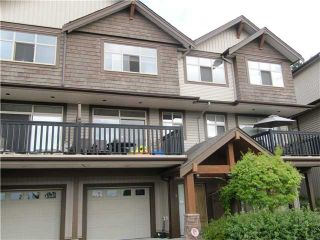 "Photo 1: # 5 320 DECAIRE ST in Coquitlam: Central Coquitlam Townhouse for sale in ""THE OUTLOOK"" : MLS®# V991786"