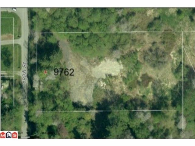"""Main Photo: 9762 182A ST in Surrey: Fraser Heights Land for sale in """"Fraser Heights"""" (North Surrey)  : MLS®# F1200871"""