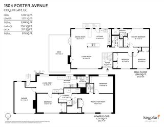Photo 20: 1304 FOSTER AVENUE in Coquitlam: Central Coquitlam House for sale : MLS®# R2433581