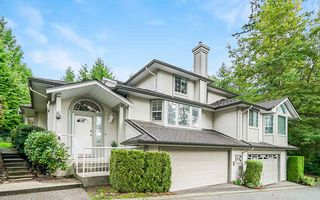 """Photo 1: 31 101 PARKSIDE Drive in Port Moody: Heritage Mountain Townhouse for sale in """"Treetops"""" : MLS®# R2423114"""