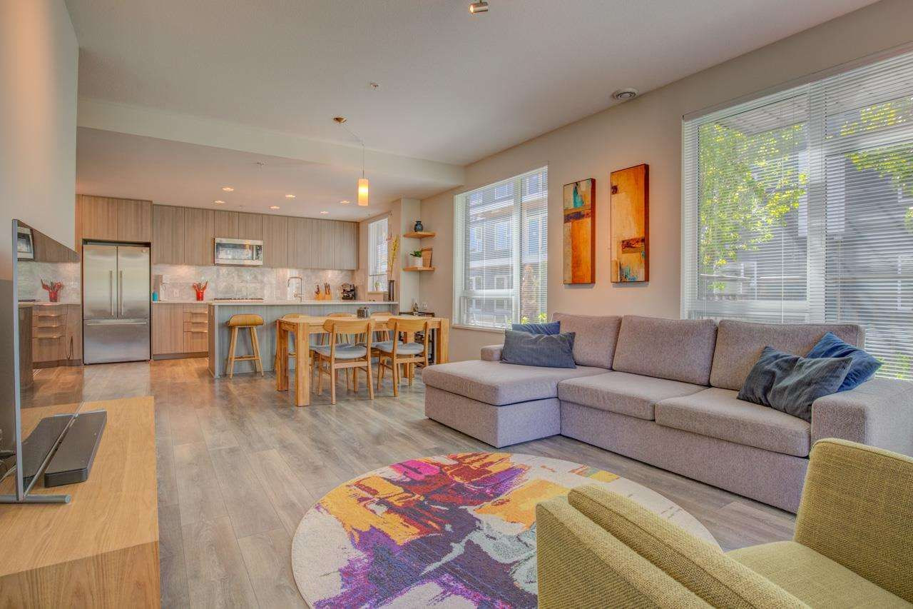"""Main Photo: 108 3289 RIVERWALK Avenue in Vancouver: South Marine Condo for sale in """"R&R"""" (Vancouver East)  : MLS®# R2578350"""