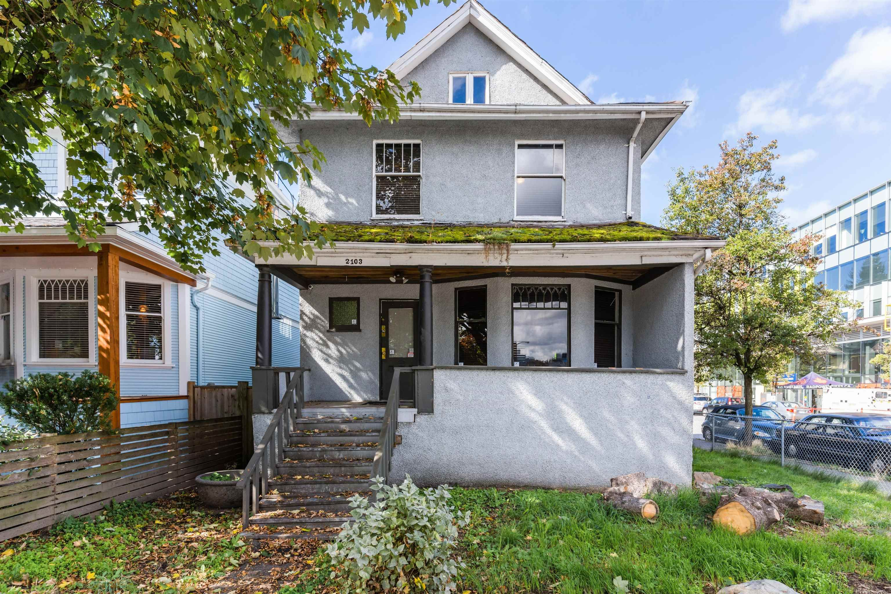Main Photo: 2103 COLUMBIA Street in Vancouver: False Creek House for sale (Vancouver West)  : MLS®# R2617685