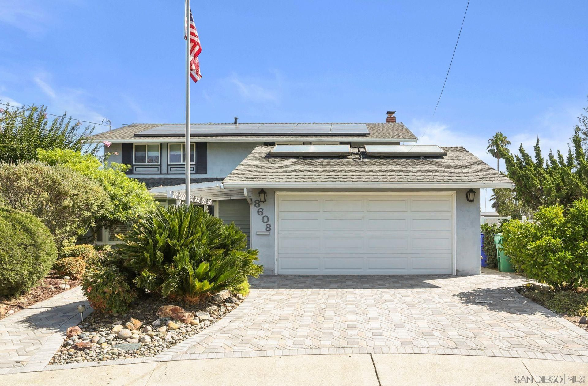 Main Photo: SAN CARLOS House for sale : 4 bedrooms : 8608 Maury Ct in San Diego