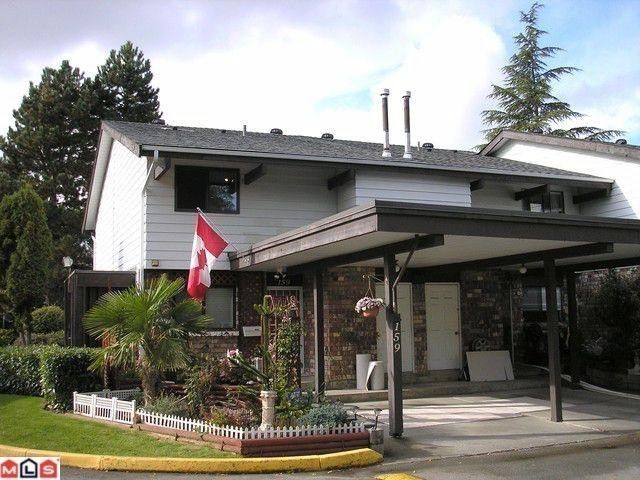 """Main Photo: 159 7484 138TH Street in Surrey: East Newton Townhouse for sale in """"Glencoe Estates"""" : MLS®# F1125831"""