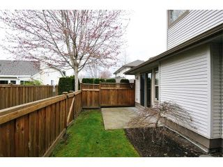 "Photo 16: 4 22280 124TH Avenue in Maple Ridge: West Central Townhouse for sale in ""HILLSIDE TERRACE"" : MLS®# V1111667"