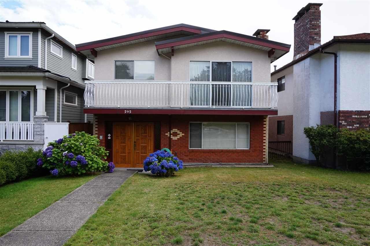 Main Photo: 292 W 45TH AVENUE in : Oakridge VW House for sale : MLS®# R2092168