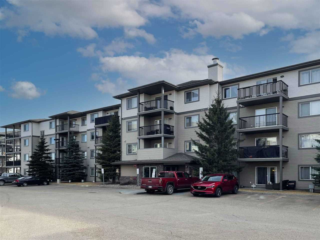 Main Photo: 403 1188 HYNDMAN Road in Edmonton: Zone 35 Condo for sale : MLS®# E4228866