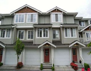 "Photo 1: 84 14877 58TH Avenue in Surrey: Sullivan Station Townhouse for sale in ""Redmill"" : MLS®# F2815007"